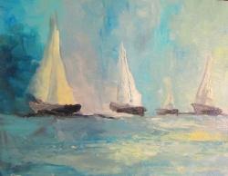 obraz olejny Sylwia Michalska marynistyka 26