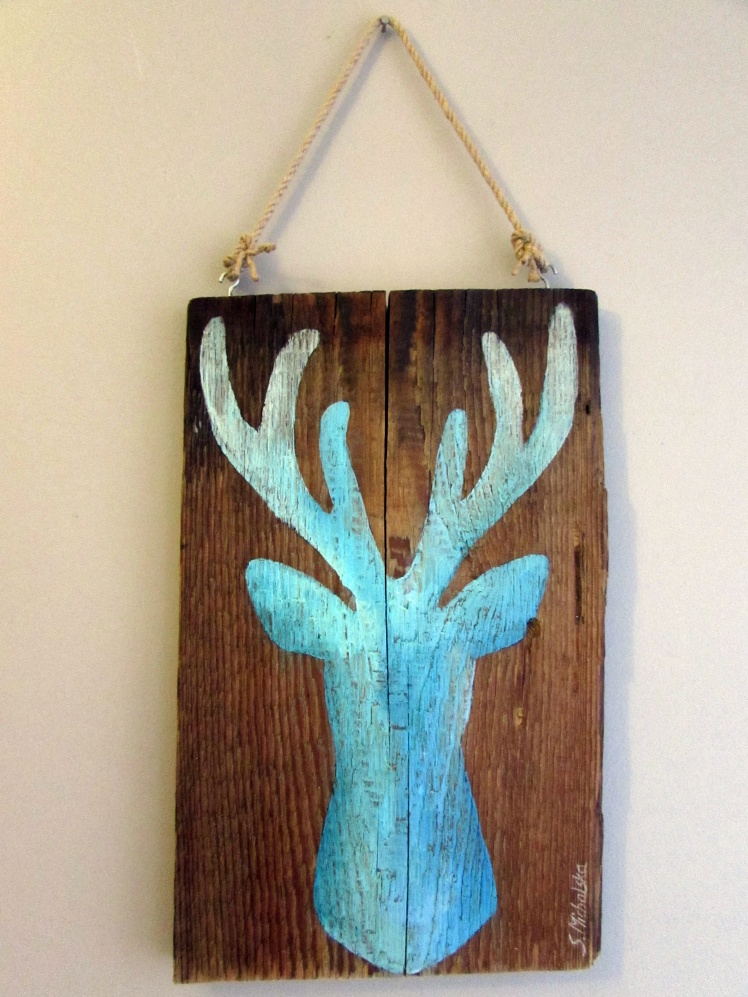 obrazy olejne jelenie 4 sylwia michalska