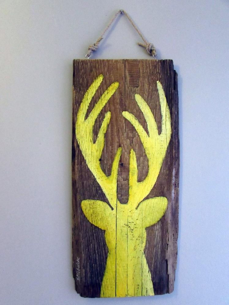 obrazy olejne jelenie 6 sylwia michalska