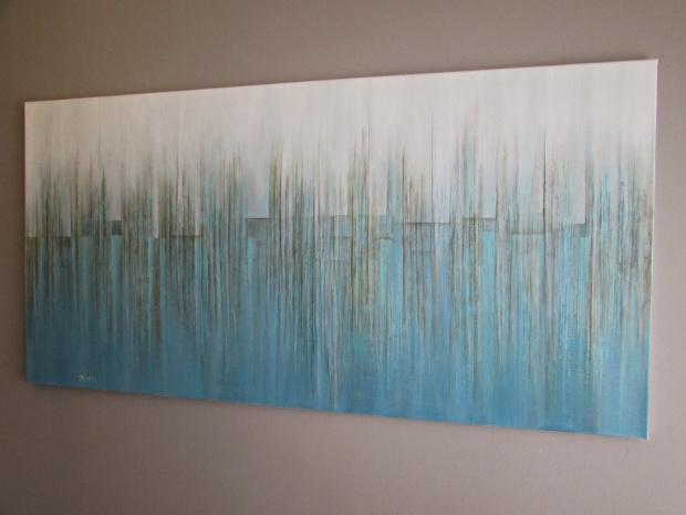 abstrakcja 39 sylwia michalska 70x140cm