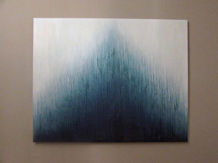 """""""Wzgórze"""" abstrakcja 42 sylwia michalska 80x100cm"""