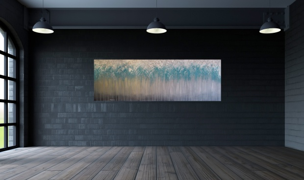 wizualizacja las koi abstrakcja sylwia michalska