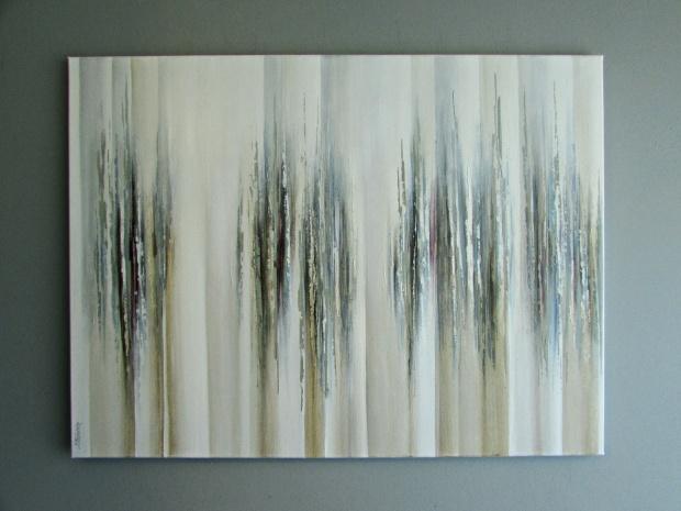 """Otwarta"" abstrakcja 49 sylwia michalska 80x60cm"