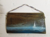 16x30cm obraz na desce marynistyka sylwia michalska 71