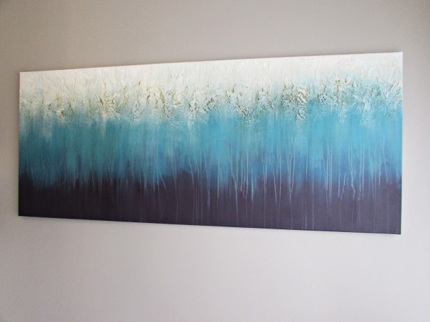 abstrakcja 80 sylwia michalska 70x170cm