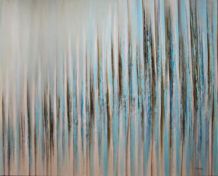 """Ambiwalencja"" abstrakcja 86 sylwia michalska 120x150cm"