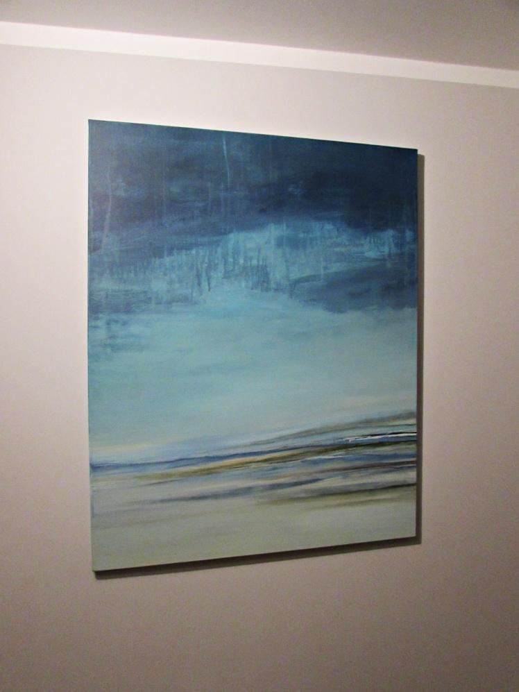 """Rozlewisko"" abstrakcja 87 sylwia michalska 100x80cm"