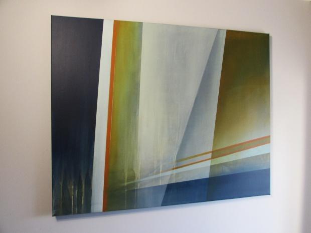 """""""Tafla szkła"""" abstrakcja 89 sylwia michalska 80x100cm"""