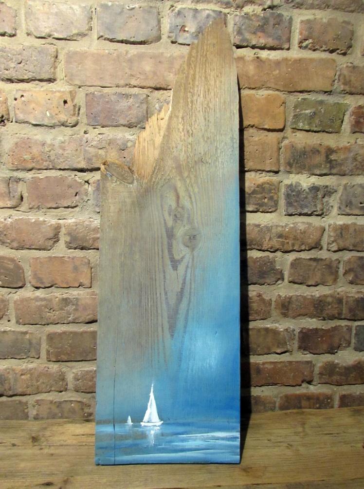 obraz olejny na desce marynistyka 80 sylwia michalska