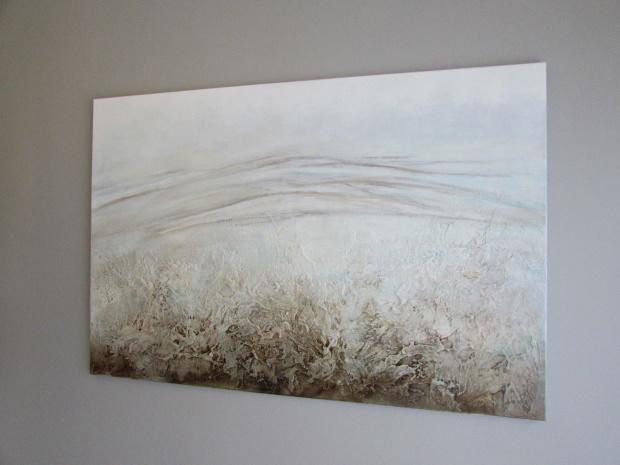 """U podnóża"" abstrakcja 100 sylwia michalska 80x120cm"