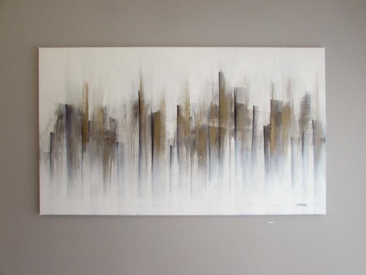 """""""Cienie"""" abstrakcja 104 sylwia michalska 70x120cm"""