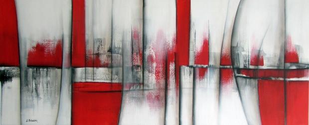 czerwień obrazy abstrakcja