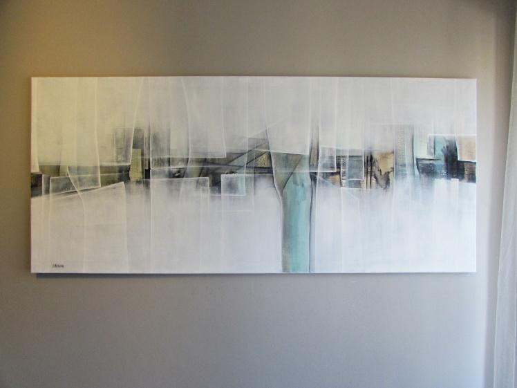 """""""Sama pójdę tą drogą"""" abstrakcja 123 sylwia michalska 70x160cm"""