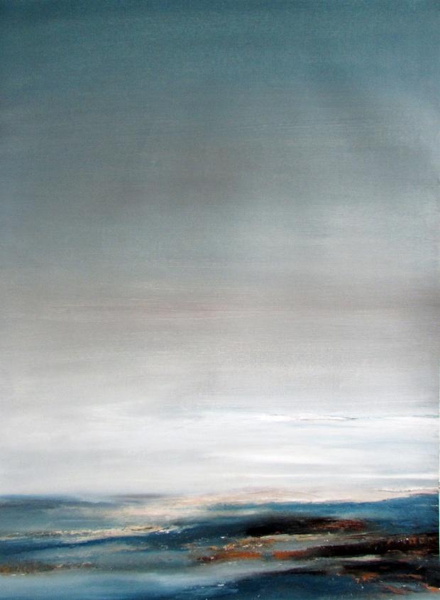 obraz olejny  99 pejzaż morski 75x55cm sylwia michalska