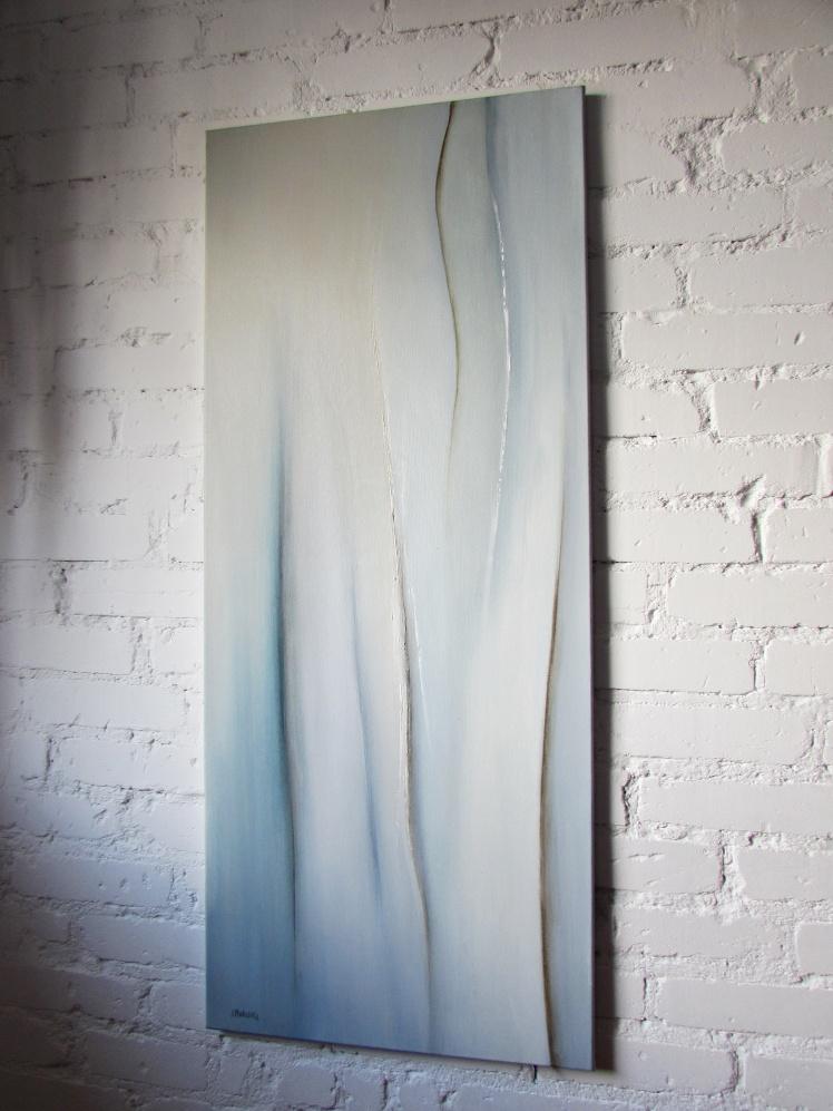dyptyk abstrakcja 147 sylwia michalska 120x50cm