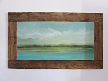 NA ZAMÓWIENIE obraz olejny pejzaż 16 sylwia michalska 60x100cm z ramą