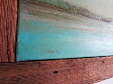 obraz olejny pejzaż 16 sylwia michalska 60x100cm z ramą