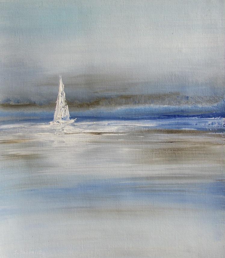 obraz olejny marynistyka 135 sylwia michalska 27x23cm