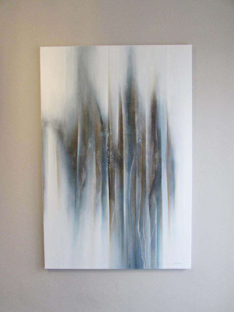 """Ukryta"" abstrakcja 167 sylwia michalska 120x80cm"