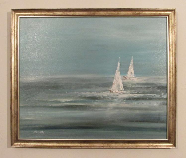 marynistyka 136 sylwia michalska obrazy olejne 50x60cm