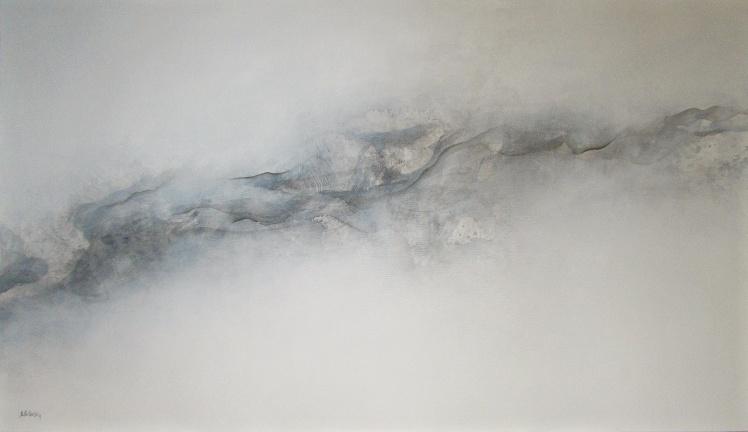 """""""Nieuchwytny"""" abstrakcja 184 sylwia michalska 70x120cm"""