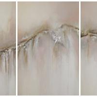 Tryptyk górski - abstrakcja ze srebrem