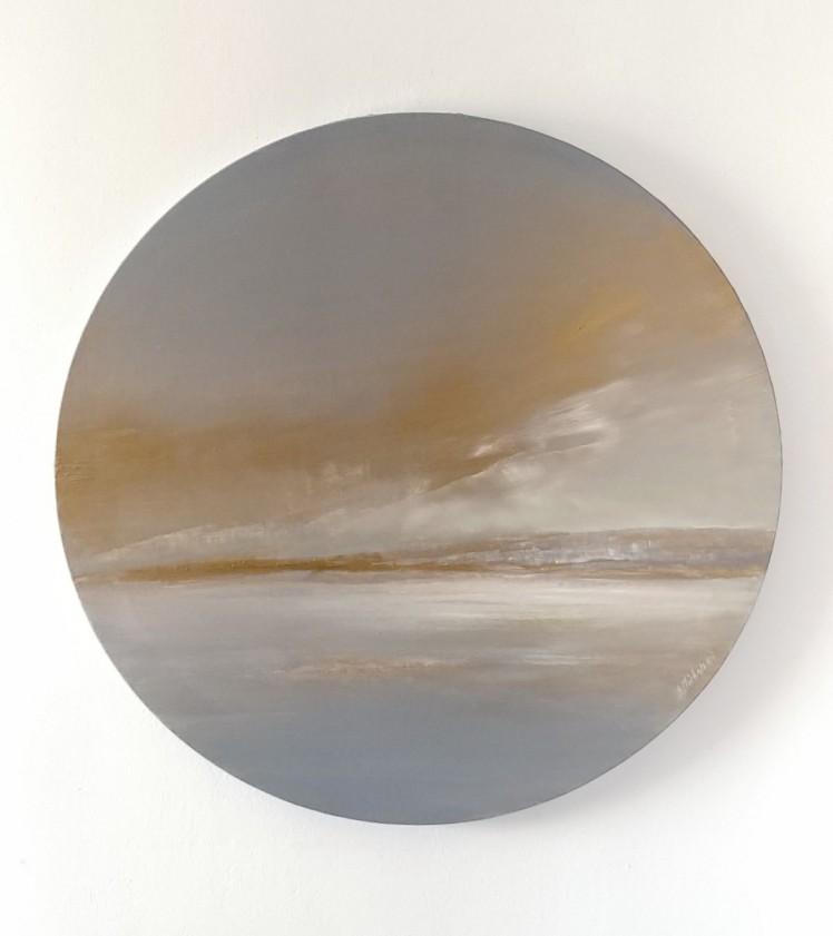 pejzaż 34 akryl obrazy sylwia michalska śr.50cm